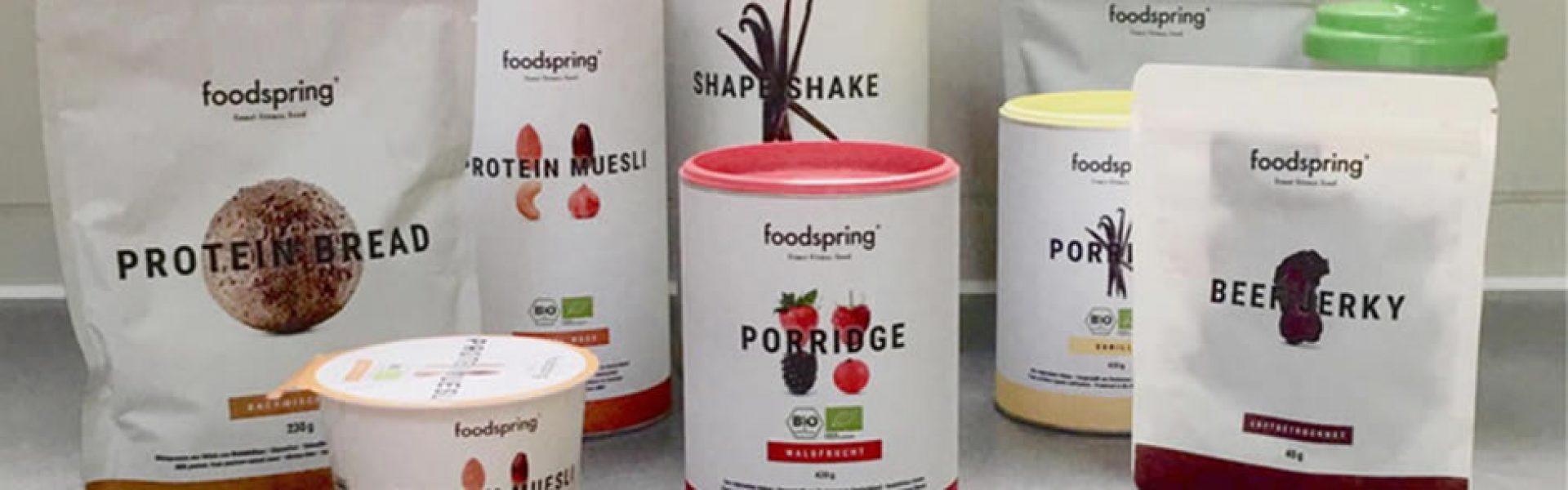 foodspring perte de poids avant apres